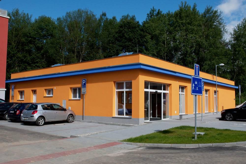 sídlo a budova Veterinární nemocnice Cb-Vet s.r.o., České Budějovice